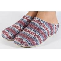 Papuci de casa MUBB din lana multicolori dama/dame/femei (cod 285-2-18)