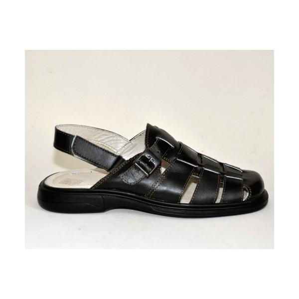 Sandale din piele, pentru barbati, lucrate manual