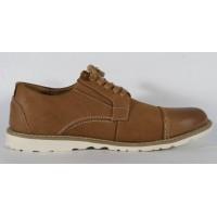 Pantofi maro din piele naturala (cod 15-5942)