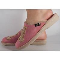 Papuci de casa roz din plus dama/dame/femei (cod PATTY)