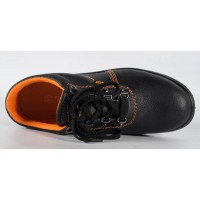 Pantofi din piele naturala, de protectie, bombeu metalic (cod 171002)