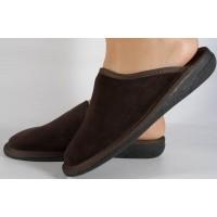 Papuci de casa visinii din velur dama/dame/femei (cod 15-148002)