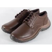 Pantofi/Ghete maro, pentru barbati, din piele naturala 100% (cod: SPBL1)