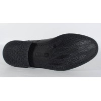 Pantofi negri de barbati din piele naturala (cod SPB01)