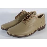 Pantofi kaki de barbati din piele naturala (cod SPB01)