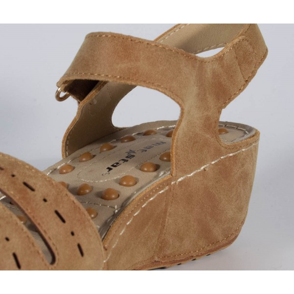Sandale platforma maro dama/dame/femei (cod 195001)