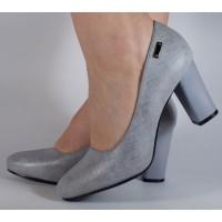 Pantofi office gri dama/dame/femei (cod 029146)