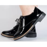 Pantofi negri piele lacuita dama/dame/femei (cod SPF02)