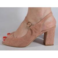Sandale elegante roz dama/dame/femei (cod 029157)