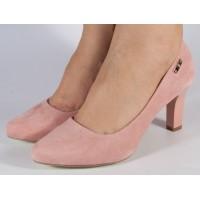 Pantofi eleganti roz dama/dame/femei (cod 029148)