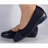 Pantofi platforma bleumarin dama/dame/femei (cod 523003)