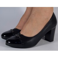Pantofi office negri dama/dame/femei (cod 028520)
