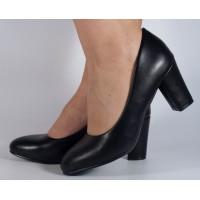 Pantofi office negri dama/dame/femei (cod 2659)