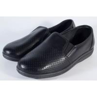 Pantofi negri piele naturala (cod 53-05)