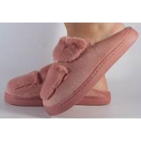 Papuci de casa roz dama/dame/femei (cod 418003)