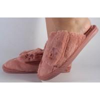 Papuci de casa roz dama/dame/femei (cod 418004)