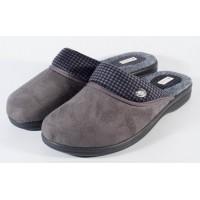 Papuci de casa gri (cod 7727)