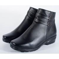 Cizme negre imblanite inclusiv pe talpa dama/dame/femei (cod 170006)